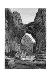 The Natural Arch of Constantine, C1890 Giclée-tryk af  Barbant