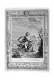 Arion Saved by a Dolphin, 1733 Giclee Print by Bernard Picart