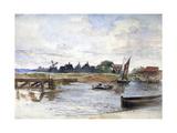 River Scene, C1864-1930 Giclee Print by Anna Lea Merritt