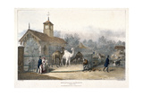 Zoological Gardens, Regent's Park, London, 1835 Giclee Print by Charles Joseph Hullmandel