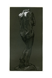 A Woodcut after a Statue by Rodin, 1898 Giclee Print by Auguste Lepere