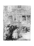Quartier Juif a Amsterdam, C1870-1910 Giclee Print by Auguste Lepere