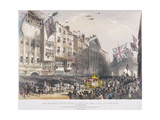Temple Bar, London, 1837 Giclee Print by Charles Joseph Hullmandel
