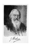 Johannes Brahms (1833-189), German Composer, 20th Century Giclee Print by Carl Jander