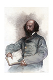 Alfred Lord Tennyson (1809-189), English Poet, 1884 Giclee Print by Amedee Forestier