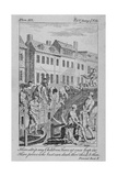 View of the Fleet Ditch with Bathers, City of London, 1750 Giclee Print by Charles Grignion