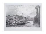 London Bridge, London, 1832 Giclee Print by Charles Joseph Hullmandel