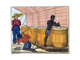 Filling and Heading Casks, 1826 Giclee Print by Amelia Alderson Opie