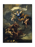 The Glory of Louis XIV - Triumph of Time, 17th Century Giclee Print by Baldassare Franceschini