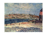 River Banks at Saint-Mammès, 1884 Giclee Print by Alfred Sisley