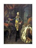 Portrait of Tsar Peter III, 1762 Giclee Print by Aleksei Petrovich Antropov