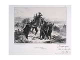 Le Jour Du Bataille' ('The Day of the Battle), Siege of Paris, Franco-Prussian War, 1870 Giclee Print by Auguste Bry