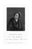Alexander Pope, English Poet Giclee Print by C Picart