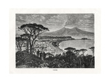Naples, Italy, 1879 Giclee Print by Charles Barbant