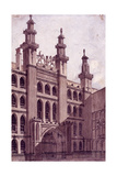 Guildhall, London, C1800 Giclee Print by Charles Tomkins