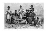 Georgian Men, 1895 Giclee Print by Armand Kohl