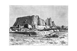 The Ruined Fortress of Veramin, Persia (Ira), 1895 Giclee Print by Armand Kohl