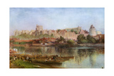 Windsor Castle, 1889 Giclee Print by Alfred William Hunt