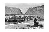 The El-Kantara Gorge, Tunisia, 1895 Giclee Print by Armand Kohl