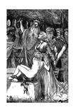 The Victim, 1868 Giclee Print by Arthur Boyd Houghton
