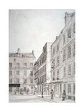 Old Hummums Hotel, Covent Garden, Westminster, London, C1830 Giclee Print by Charles John Smith