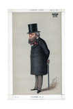A Conservative Religionist, 1871 Giclee Print by Carlo Pellegrini