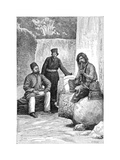 Persian Men, 1895 Giclee Print by Charles Barbant