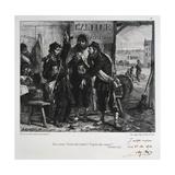 Des Canons! Encore Des Canons!! Toujours Des Canons!!! Siege of Paris, December 1870 Giclee Print by Auguste Bry