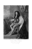 Charles II, King of England Giclee Print by Charles Turner