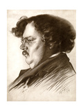 Gilbert Keith Chesterton, English Writer, 1909 Giclee Print by Alfred Priest