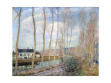 The Loing Canal, 1892 Giclee Print by Alfred Sisley