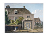 View of the Coade Stone Factory in Narrow Wall, Lambeth, London, 1801 Giclee Print by Charles Tomkins