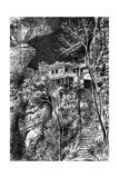 Buddhist Monastery, Yuen-Fu on the Min, South of Fuchu-Fu, C1890 Giclee Print by Armand Kohl
