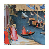 St Nicholas Saves Mira from Famine, C1327-1332 Giclee Print by Ambrogio Lorenzetti