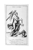 A Representation of October, 1757 Giclee Print by Bernard De Montfaucon