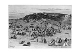 Boghari Village and Market, C1890 Giclee Print by Charles Barbant