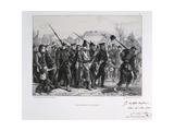 Prussian Prisoners, Franco-Prussian War, 1870 Giclee Print by Auguste Bry