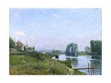Ile Saint-Denis, 1872 Giclee Print by Alfred Sisley