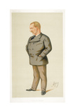 Captain Matthew Webb, First Man to Swim the English Channel, 1875 Giclee Print by Carlo Pellegrini