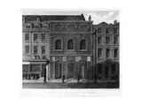 Exterior View of the Italian Opera House, Haymarket, 18th Century Giclee Print by Charles John Smith