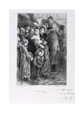 Cantine Nationale, Siege of Paris, Franco-Prussian War, January 1871 Giclee Print by Auguste Bry