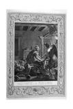 Penelope at Her Loom, 1733 Giclee Print by Bernard Picart