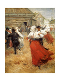 Country Celebration, Late 19th or Early 20th Century Giclee Print by Anders Leonard Zorn