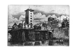 La Pompe Notre-Dame, C1841-1868 Giclee Print by Charles Meryon