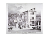 Buckingham Palace Road, Westminster, London, C1840 Giclee Print by Charles Joseph Hullmandel