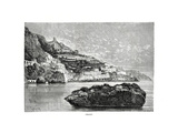 Amalfi, Italy, 1879 Giclee Print by Charles Barbant