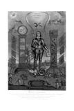 Oliver Cromwell, English Soldier and Statesman Wydruk giclee autor Charles Turner