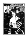 Portrait of a Woman, 1898 Giclee Print by Aubrey Beardsley