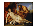 Jupiter and Antiope, C1753 Giclee Print by Carle van Loo