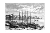 Wuhan, China, 1895 Giclee Print by Charles Barbant